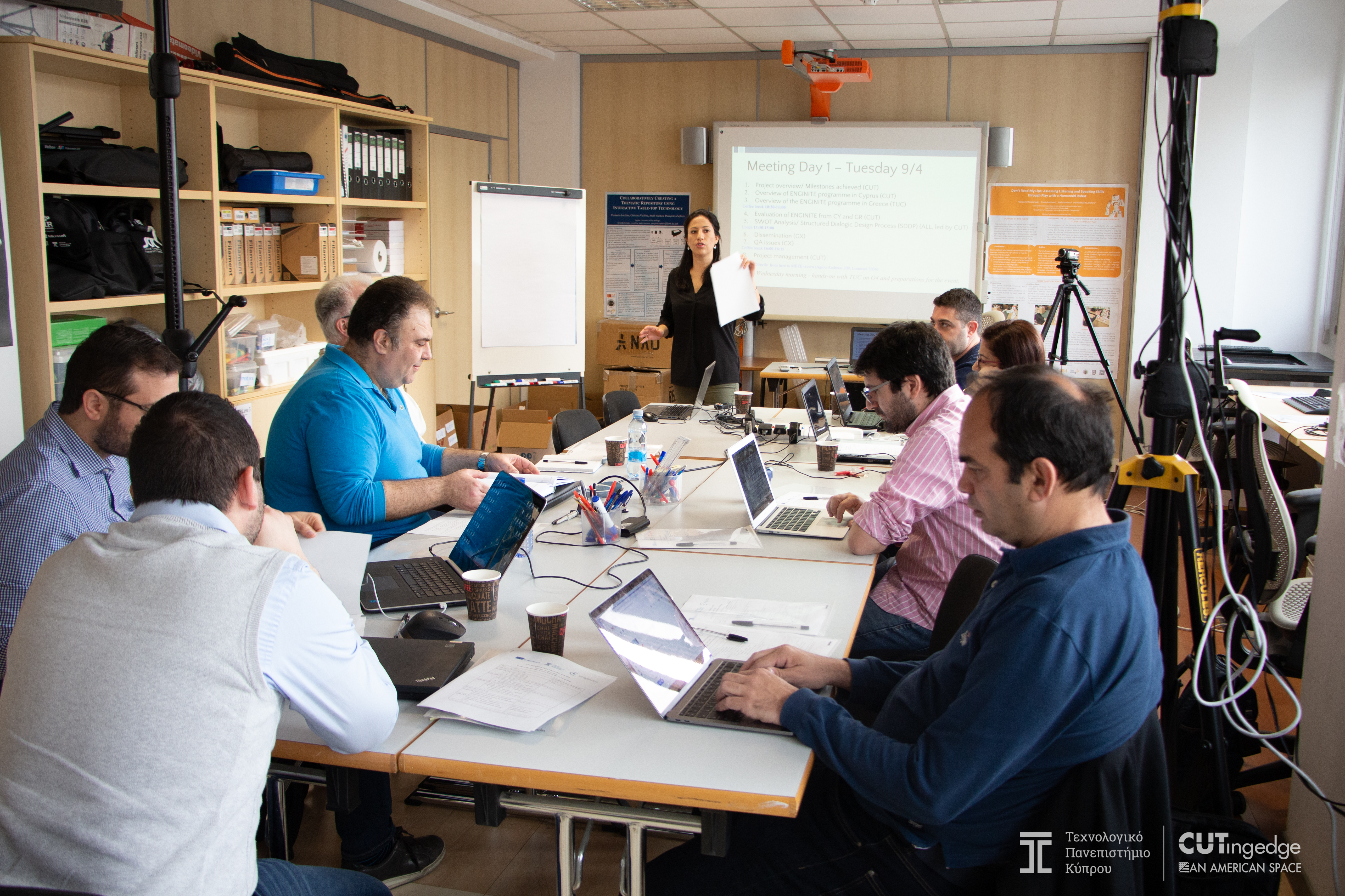 The 4th ENGINITE transnational project meeting (M4) in